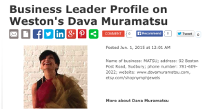 dava profile Metrowest Daily News